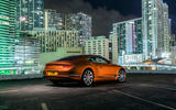 Bentley Continental GT V8 2019 official press - static rear