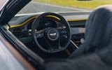 92 Bentley Mulliner Bacalar prototype drive 2021 dashboard