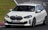 BMW 1 Series 128ti prototype 2020 first drive review - Richard Lane on track