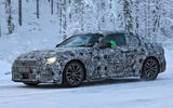 BMW 2 Series Coupe winter test spy images - front