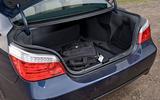 BMW 5 Series E60 road test rewind - boot