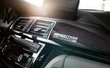 BMW M4 Edition M Heritage official press - dashboard