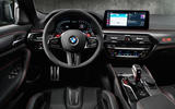 92 BMW M5 CS 2021 official reveal dashboard