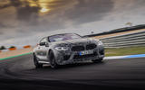 2019 BMW M8 prototype ride - track front