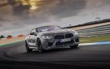2019 BMW M8 prototype ride - track front