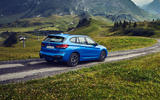 BMW X1 PHEV official press photos - on the road rear
