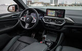 92 BMW X4 M 2021 LCI official images cabin