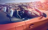 2019 BMW Z4 official reveal Pebble Beach - roof down