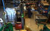 92 British Motor Heritage factory visit 2021 workers