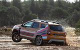 Dacia x Future Terrain - wheel in air