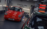 92 Duke of London Autocar visits Porsche