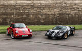 92 Everrati GT40 2021 offical images with Porsche