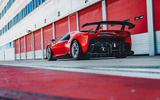 Ferrari P80/C 2019 reveal official pictures - pit lane rear
