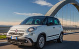 92 Fiat 500 Hey Google 500l tracking front