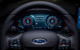 92 Ford Focus 2021 refresh official images ST instruments