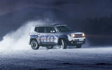 GKN Jeep Renegade eAWD prototype 2020 drive - cornering