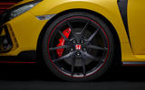Honda Civic Type R limited edition 2020 official press photos - alloy wheels