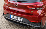 2020 Hyundai i30 N-Line prototype drive review - rear end