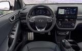 Hyundai Ioniq 2019 facelift official press - dashboard
