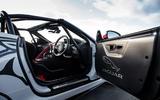 Jaguar F-Type rally car 2019 driven cabin