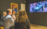 Jim Clark Museum preview day - cinema