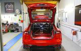 99 Kia Stinger GT420 racer - workshop rear
