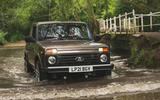 92 Lada Niva EOL feature wading