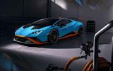 Lamborghini Huracan STO 2020 official images - static