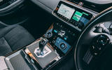 Land Rover Range Rover Evoque 2019 first ride review - centre console