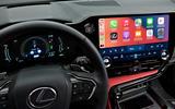 92 Lexus NX 450h+ 2021 official reveal infotainment