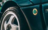 Lotus Carlton at 30 - Lotus badge