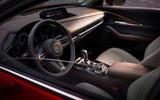Mazda CX-30 2019 Geneva motor show reveal - dashboard
