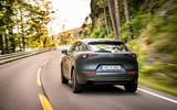 Mazda e-TPV prototype 2019 first drive review - cornering rear