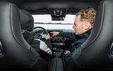 Mercedes-AMG A45 2019 prototype ride - drift mode