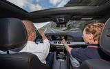 Mercedes-AMG GLE 53 prototype ride - Greg Kable pointing
