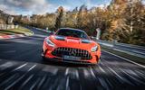 Mercedes-AMG GT Black Series Nurburgring record - nose