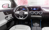 92 Mercedes Benz EQA official images dashboard