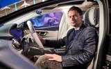 92 Mercedes Benz EQS interior official sitting