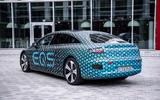 92 Mercedes Benz EQS prototype ride 2021 static rear