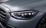 2021 Mercedes-Benz S-Class official reveal images - headlights