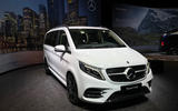 Mercedes-Benz V-Class 2019 reveal - stage
