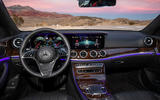 Mercedes-Benz E-Class 2020 prototype ride - dashboard