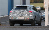 92 Mercedes EQE SUV spies Oct 2021 rear