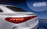 92 Mercedes EQS official reveal images rear lights