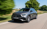 Mercedes-Benz GLA 250e 2020 prototype drive - tracking front