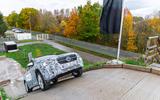 Mercedes-Benz GLA prototype ride 2019 - hill ascent
