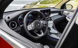 Mercedes GLC Coupe 2019 press - steering wheel
