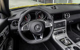 Mercedes-Benz SLC final edition official press - dashboard