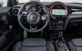 92 Mini JCW anniversary official images dashboard