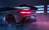 Naran Automotive hypercar official reveal - static rear
